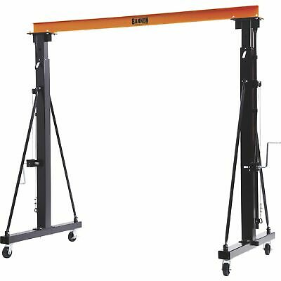 Bannon Adjustable Gantry Crane - 2000-Lb. Capacity