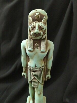 Rare Antique Statue Rare Ancient Egyptian Pharaonic Sekhmet stone Bc
