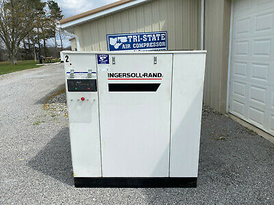 Ingersoll Rand SSR-XF100 Rotary Screw Air Compressor 125 psi 100 hp 483 cfm