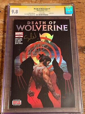 DEATH OF WOLVERINE 1 RARE MILE HIGH comics VARIANT cover marvel p4e11