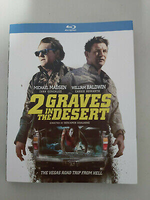 2 Graves in the Desert - BLU RAY SIZE - SLIPCOVER ONLY - NO DISC