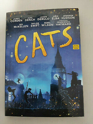 Cats 2019 - DVD SIZE - SLIPCOVER ONLY - NO DISC