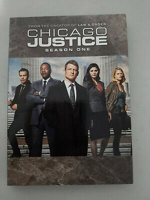 Chicago Justice Season 1 - DVD SIZE - SLIPCOVER ONLY - NO DISC