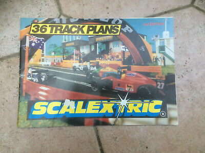Scalextric Track Plans Booklet 3Rd Edition 1993