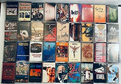 YOU PICK Cassette Tape Lot: 80s, New Wave, Alt, Indie, Grunge, Punk, Pop, Rock