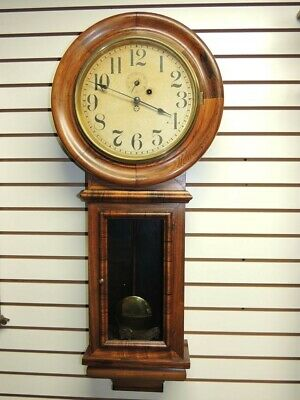 New Haven Clock Company antique clock Amish owned