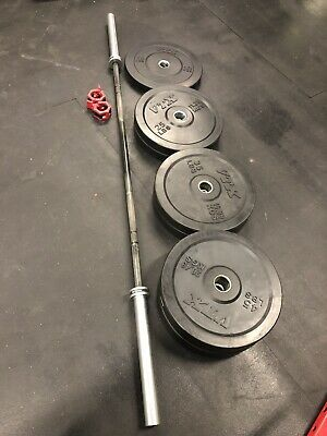 -Total 20lbs Fast Shipping Pair NEW Rogue Fitness 10 lb Fleck Bumper Plates