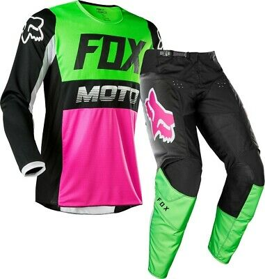 Fox Racing Youth Girl Kid/'s 180 Race Jersey Pant Combo Set Gear MX 3-5 Year Old