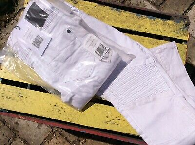 Boys CR7 Cristiano Ronaldo White Jeans 6 Years new with tags Type S Moto
