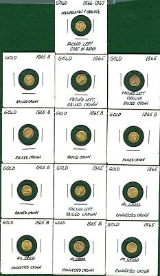 Mexico 1949 22Kt Gold 13-Coin Wedding Arras Of Maximilian Tokens - The Real Deal