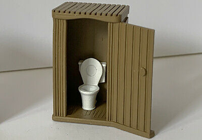 3D-PLUSS Toilets Ideal for trackside workmen Pack of X2 RESIN