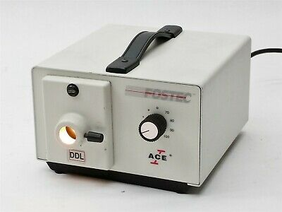 Fostec 20500.2 Ace 1 DDl Light Source Fiber Optic Microscope Illuminator