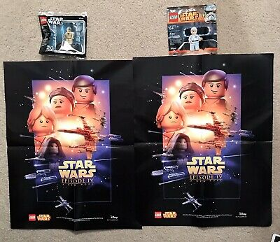 Lego Star Wars Lot Polybags Figures Posters Exclusive - 4 Item Lot 30624