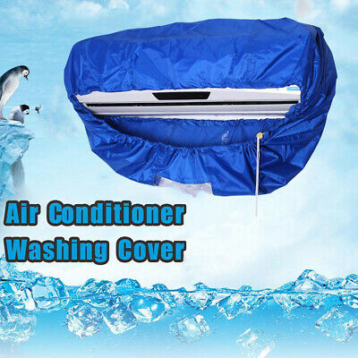 UK Air Conditioning Cleaning Cover Waterproof Dust Washing Clean Protector Bag