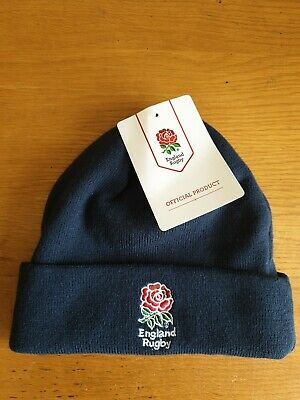 England RFU Official Knitted Cuff Beanie Hat