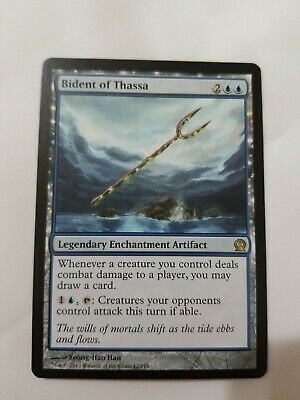 Bident Of Thassa Mtg Magic Masters 25 Hand Painted Altered Extended Art Tentz 5 50 Picclick