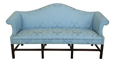 46718EC: KITTINGER Historic Newport Collection Chippendale Sofa