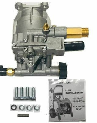 Homelite New 2700 PSI Pressure Washer Pump Replaces 308418007 Models HL252300, +