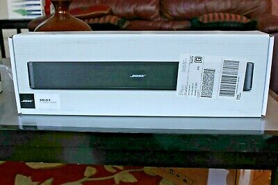 Brand New - Bose Solo 5 Soundbar - TV Sound System  - Bluetooth - Factory Sealed