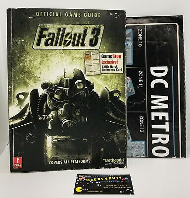 Fallout 3: Game of the Year Edition- Prima Official Game Guide w/ Map