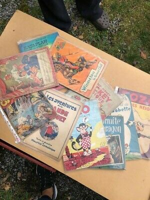 Lot De 10 Bd Divers