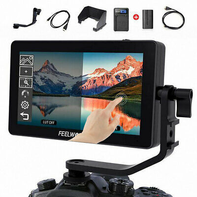 FEELWORLD F6 Plus +F550 Battery+Charger Touch Screen Cameras Field Monitor