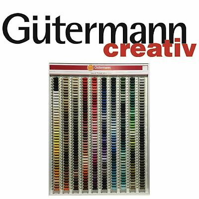 Gutermann Sew All 100% Polyester Thread 100M-Hand& Machine Sewing No's 521-991