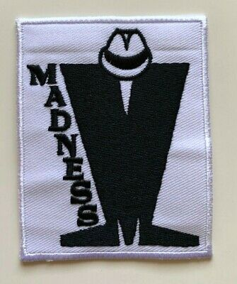 TWO TONE MADSTOCK SKA MUSIC The Specials-Embroidered Patch Iron on Sew On Badge