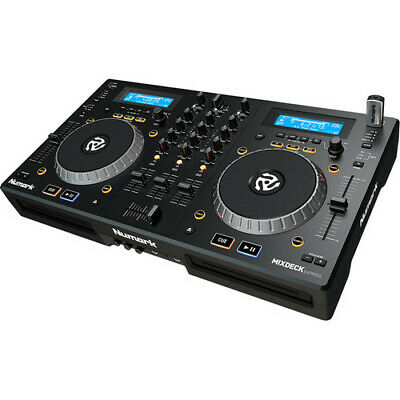 NUMARK Mixdeck Express Premium DJ Controller with CD & USB Playback