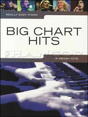 Really Easy Piano Big Chart Hits Sheet Music Book Ed Sheeran Adele Jessie J Pop