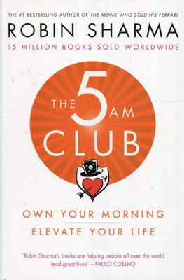 ✅ The 5 AM Club: Own Your Morning. Elevate Your Life By Robin Sharma✅  <P_D_F>