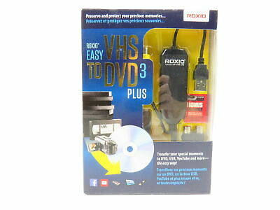 ROXIO EASY VHS TO DVD 3 PLUS - new in unopened box