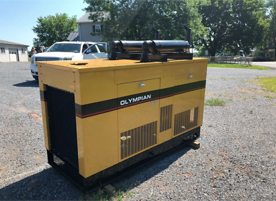 Olympian 30KW 1994, Natural Gas / Propane, 5.7 Liter Engine, 324 Hours:
