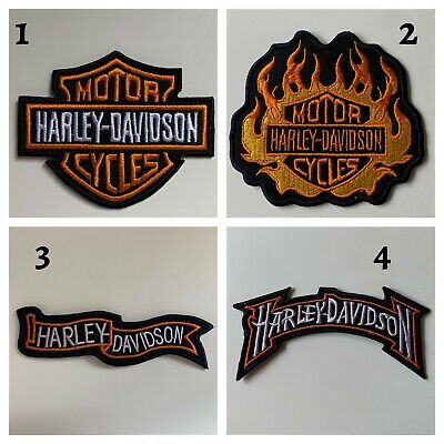 HIGH QUALITY - Harley Davidson BIKER-Patch Embroidered Patches Badge Iron/Sew on