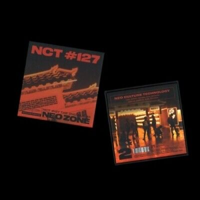 US SHIPPING NCT 127-[NCT #127 Neo Zone] 2nd Album Kihno Kit+FoldingPhoto+Card