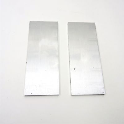 ".375"" thick  3/8  Aluminum 6061 PLATE  5.875"" x 9.625"" Long QTY 2  sku 137051"