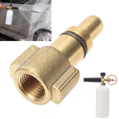 """1/4"""" Female Car Pressure Washer Adapter Connector For Lavor Snow Foam Lance~"""