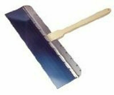 Kraft Tool DW628 Blue Steel Drywall Knife with 16-Inch Handle, 18 x 4-Inch