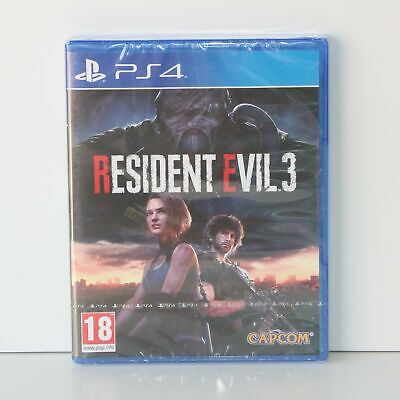Residente Evil 3 - Remake - Sony PLAYSTATION 4 PS4 Gioco - Nuovo e Sigillato