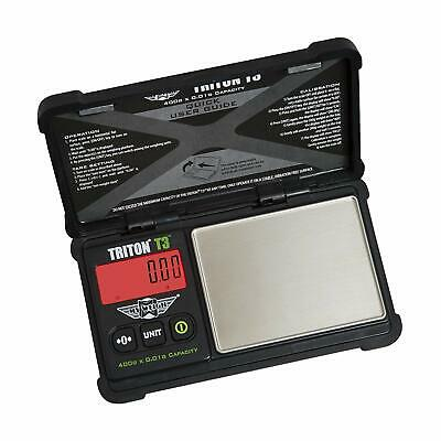Triton T3 Digital Weighing Scales 400g x 0.01g Accuracy Digital Scale Gold