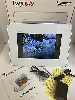 "Piximodo Digital Photo Picture Frame 10.2""  No Remote"