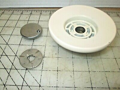 Singer 401A Sewing Machine Balance Wheel Assembly - knob, clutch, gear