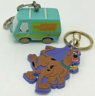 Scooby Doo The Mystery Machine Keychains Hanna Barbera 1998