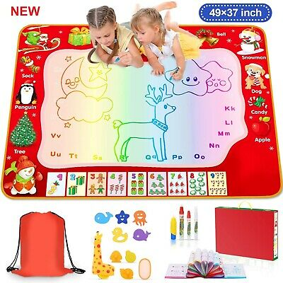 Learning Educational Toys Drawing Mat for Kids Age 3 to 8 Years Old Boys Girls