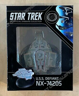 Star Trek USS Defiant NX-74205 Ship - Best Of Eaglemoss Official Starships DS9