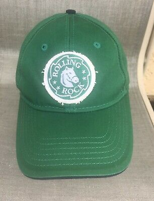 Rolling Rock Beer Embroidered Pony Hat Ball Cap One Size