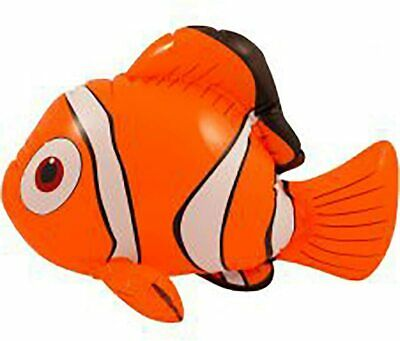 Inflatable Clown Fish Sea Fancy Dress Toy Inflatable Orange Nemo 43 cm