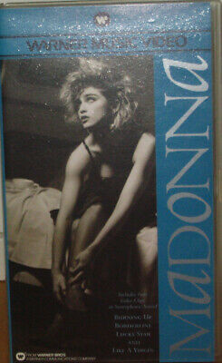 Madonna - Vhs - 4 Clips Like A Virgin