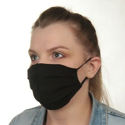 Cotton Face Mask, Washable, 3 Layers, 4 Types.