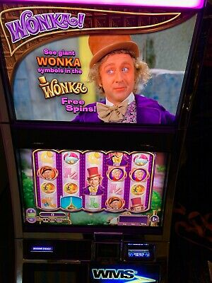 Williams Bluebird 2 Willy Wonka With Bb3 Nxt 3.2 Cpu Wms Bb2E Slot Machine